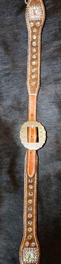Bling neck/whither strap.