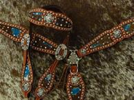 Bling Tack set with browband headstall.